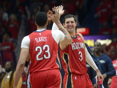 RED HOT! Nikola Mirotic, Anthony Davis and the Pelicans rip the Blazers for a 3-0 series lead