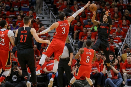 Trail Blazers Crumble, Fall Behind 0-3 To Pelicans