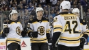Riley Nash fills Patrice Bergeron's shoes in Bruins win over Leafs