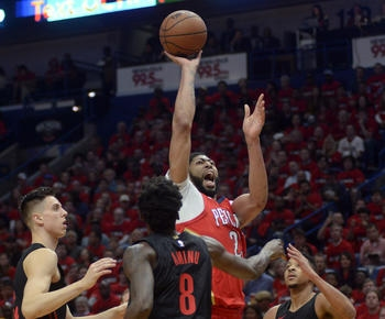Nikola Mirotic, Anthony Davis lead Pelicans to 3-0 series lead over Blazers