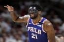 Joel Embiid lifts Sixers over Heat in first game back from injury