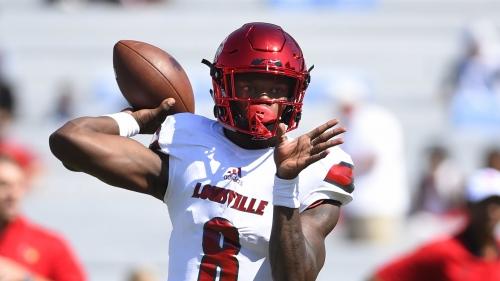 QB prospect Lamar Jackson meets with the Tennessee Titans