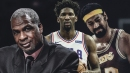 Charles Oakley compares Joel Embiid's dominance to Wilt Chamberlain