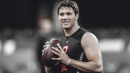 NFL Draft QB prospect Josh Allen finished with 7 visits, 1 private workout