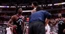 Wizards' Markieff Morris, Raptors' OG Anunoby get into shoving match 3 minutes into Game 3