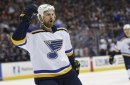 Blues' Brodziak can't be certain he'll be back