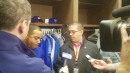 Yoenis Cespedes discusses his game-wining hit