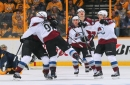 Avalanche rally late against Preds to send series back to Colorado