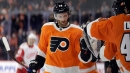 Sean Couturier channels Chris Pronger in gutsy return for Flyers