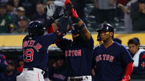 Red Sox Wrap: Sox Beat Athletics 7-3, Extend Winning Streak To Eight Games