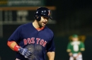 Red Sox 7, Athletics 3: Moreland's slam gives Boston eight straight