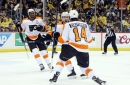 Flyers 4, Penguins 2: Down but not out