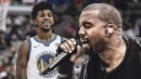 Nick Young hyped for Kanye West album