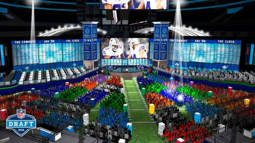 Everything you need to know about attending the NFL Draft, NFL Draft Experience at AT&T Stadium