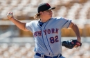 Mets call up Corey Oswalt, option Gerson Bautista to Double-A