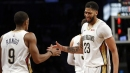 Video: Rajon Rondo behind-the-back pass to Anthony Davis vs. Blazers