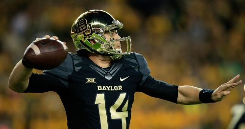 Bryce Petty comes back to visit Baylor players after spring game