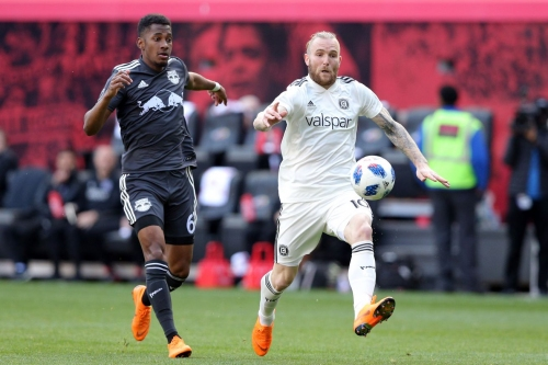 The Fire Traps The Red Bulls