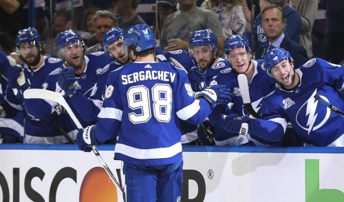 Rookie? Lightning D Mikhail Sergachev's playing like a seasoned pro