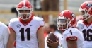 Georgia's G-Day: Freshman QB Justin Fields outperforms Jake Fromm