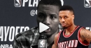Damian Lillard praises the Pelicans after sweep on Blazers