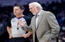 Gregg Popovich won't coach Spurs in Game 4 vs. Warriors