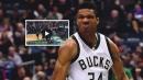 Video: Giannis Antetokounmpo's game-winner in Game 4 vs. Celtics