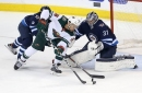 Connor Hellebuyck emerging as elite goalie at right time for Jets