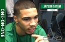 Jayson Tatum: Celtics just have to 'play tougher' (video)