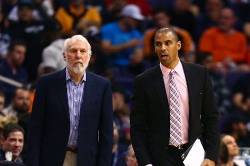 Hornets to interview Spurs assistant Ime Udoka for head coaching vacancy