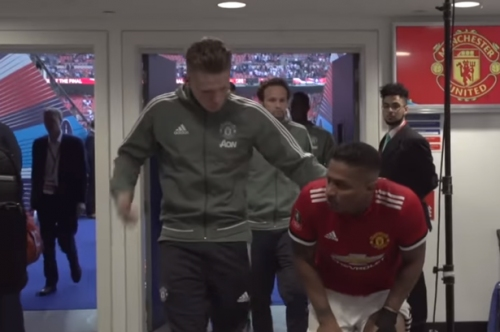 What Manchester United player Scott McTominay told Antonio Valencia after Spurs win