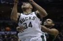 Bucks' Giannis hits big bucket but can't score lunch