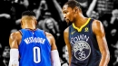 Warriors news: Kevin Durant likes comment that suggests Russell Westbrook is problem for not winning