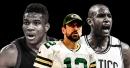 Bucks news: Aaron Rodgers reacts to Milwaukee tying series up with Celtics