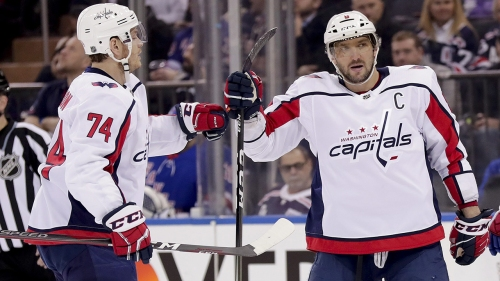 Capitals eliminate Blue Jackets behind Ovechkin's 2 goals
