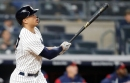 Giancarlo busts out with four hits, including monstrous home run, as Yankees sink Twins