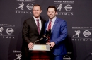 Oklahoma football: WATCH Lincoln Riley say Baker Mayfield's Heisman statue should be him planting flag