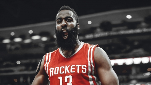 James Harden erupts for franchise playoff record for points in a quarter