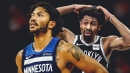 Spencer Dinwiddie immediately regrets saying Derrick Rose is the best player in Rockets-Timberwolves series