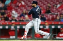 Video: Nick Markakis homers but bullpen implosion costs Braves