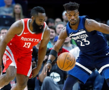 James Harden, Rockets soar past Wolves 119-100 with 50-point 3rd