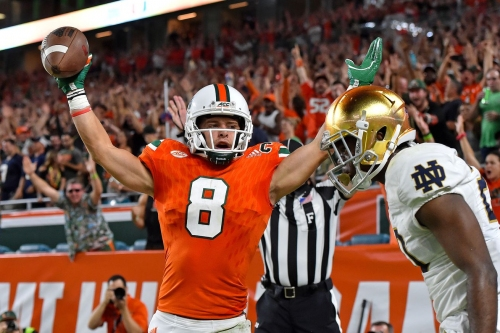 Miami Hurricanes 2018 NFL Draft Profile: WR Braxton Berrios