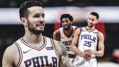 J.J. Redick says Sixers still have a lot of room to improve