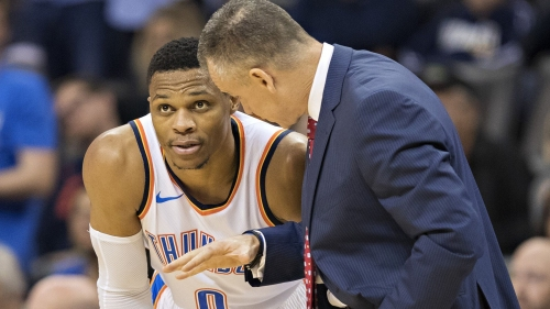 Billy Donovan explains how Russell Westbrook's foul trouble took his aggression away