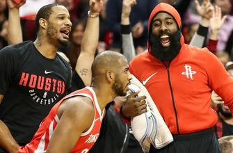 Cris Carter uncovers what was so rare about the Houston Rockets' Gm 4 win over the T-Wolves