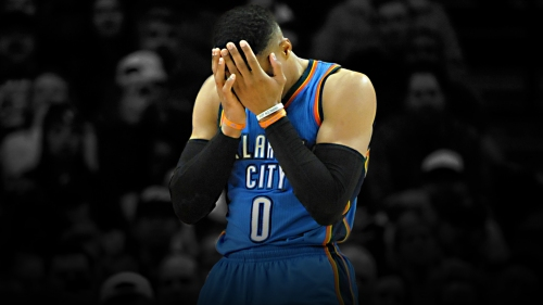 Russell Westbrook has been the worst Thunder player in the playoffs in many categories