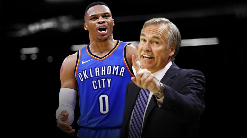 Mike D'Antoni appears to take jab at Russell Westbrook when talking about 50-point quarter