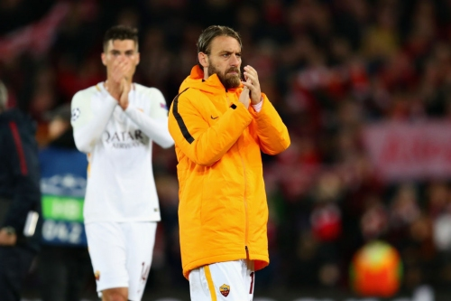 Roma captain Daniele De Rossi accuses Liverpool of being a long-ball team