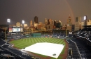 Detroit Tigers-Pittsburgh Pirates game delayed by inclement weather