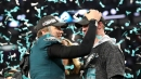 Nick Foles claims 'special' Eagles locker room makes 'crazy situation' worth it